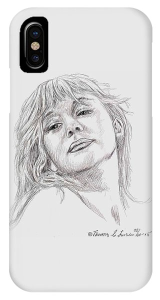Dame Helen Mirren IPhone Case