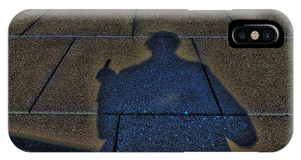 Damn Shadow Figure IPhone Case