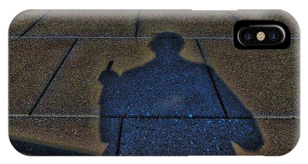 Damn Shadow Figure IPhone Case
