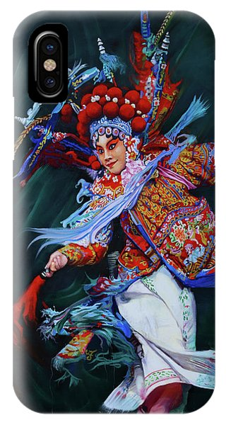 Dan Chinese Opera IPhone Case