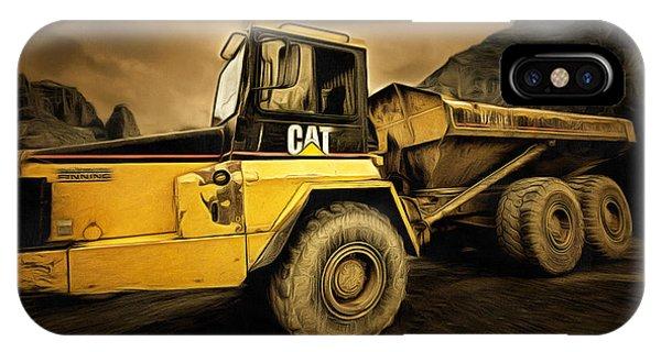 Dan Creek Rock Truck IPhone Case