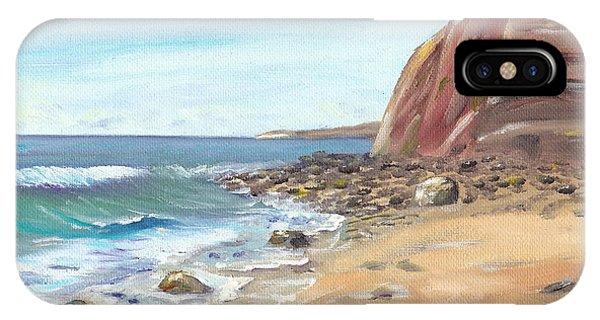 Dana Point Beach IPhone Case