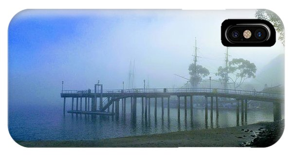 Dana Point Harbor When The Fog Rolls In IPhone Case