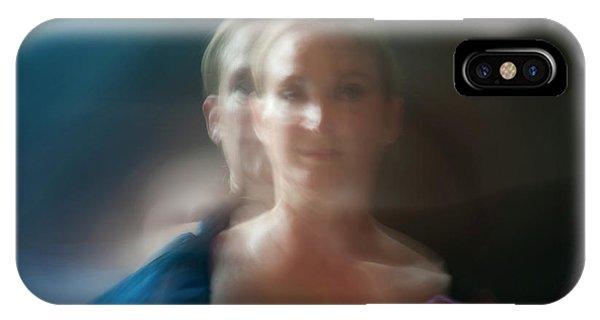Duet In Blue IPhone Case