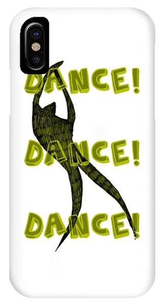 Michelle iPhone Case - Dance Dance Dance by Michelle Calkins