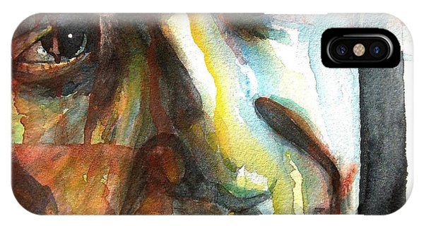 Singer iPhone Case - Dance Me To The End Of Love by Paul Lovering