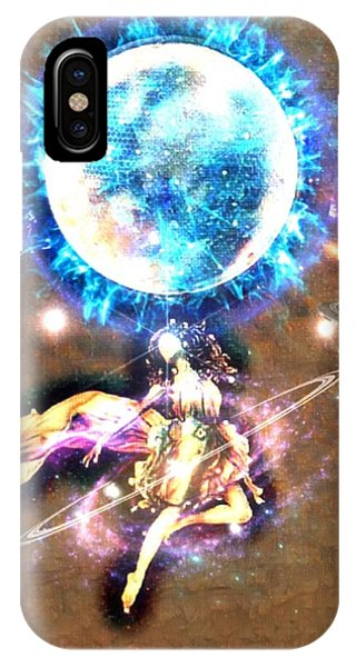 Dance Me To The Moon IPhone Case