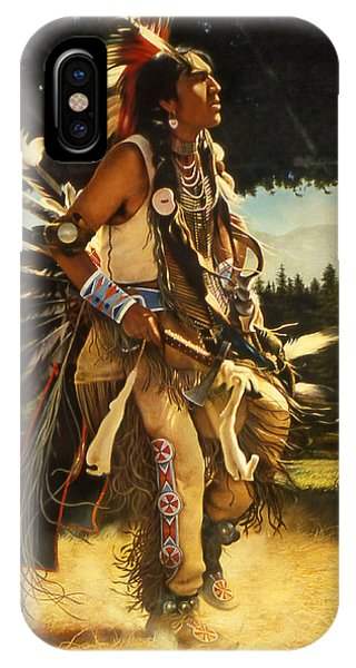 Native iPhone Case - Dance Of His Fathers by Greg Olsen