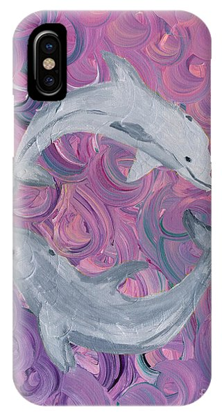 Dance Of The Dolphins IPhone Case