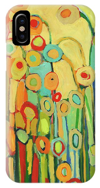 Cute iPhone Case - Dance Of The Flower Pods by Jennifer Lommers