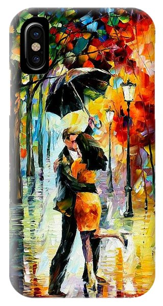 iPhone Case - Dance Under The Rain by Leonid Afremov