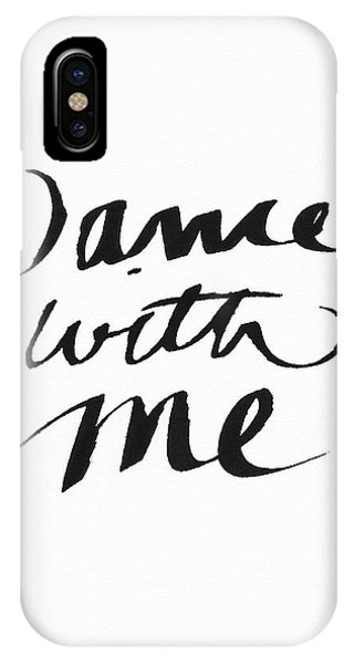 Tango iPhone Case - Dance With Me- Art By Linda Woods by Linda Woods