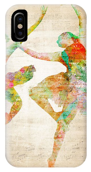Layered iPhone Case - Dance With Me by Nikki Smith
