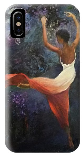 Dancer A IPhone Case