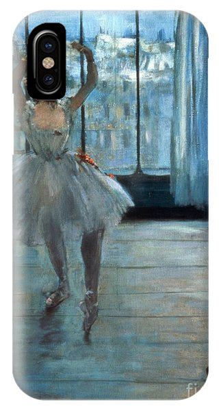 People iPhone Case - Dancer In Front Of A Window by Edgar Degas