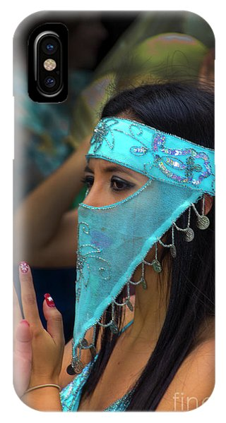 Dancer In The Pase Del Nino Parade IIi IPhone Case