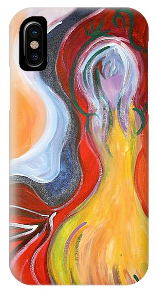 Dancer Phone Case by Jessica Kauffman