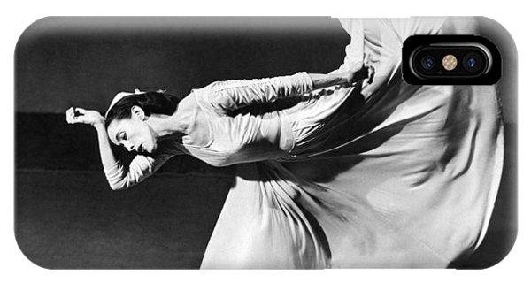 Dancer Martha Graham IPhone Case