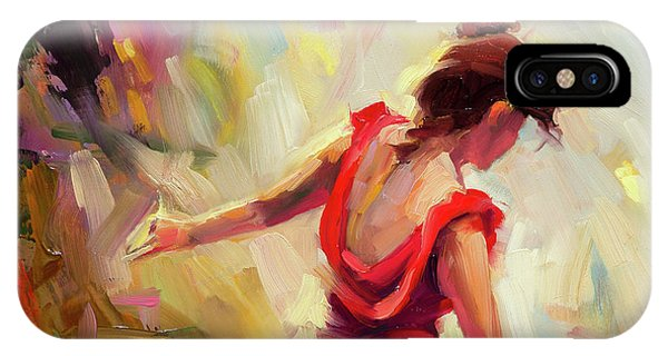 Freed iPhone Case - Dancer by Steve Henderson
