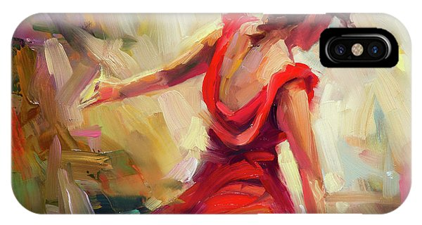 Elegant iPhone Case - Dancer by Steve Henderson