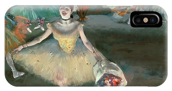 1877 iPhone Case - Dancer With Bouquet by Edgar Degas