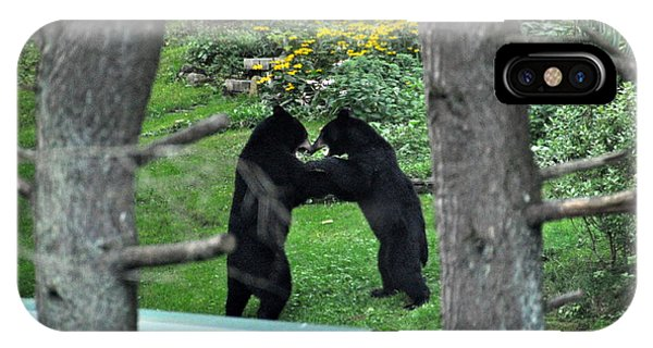 Dancing Bears IPhone Case