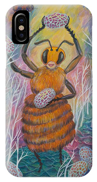 Dancing Bee IPhone Case