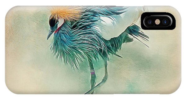 Dancing Crane IPhone Case