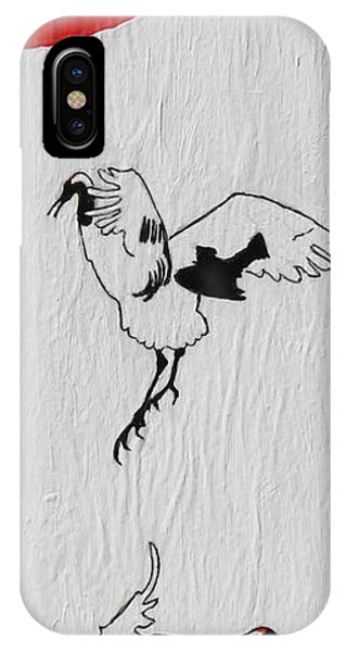 Dancing Cranes IPhone Case