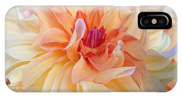 Close Up Floral iPhone Case - Dancing Dahlia by Michele Avanti