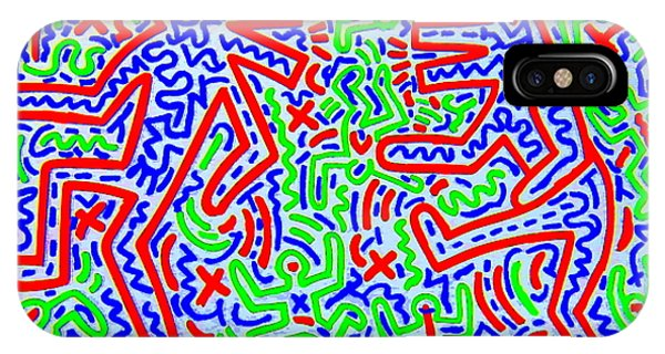 Dancing Dogs After Keith Haring 1958-90 IPhone Case