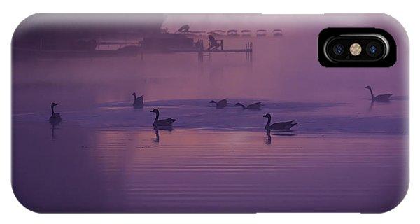 Dancing Geese IPhone Case