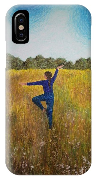 Dancing Field IPhone Case