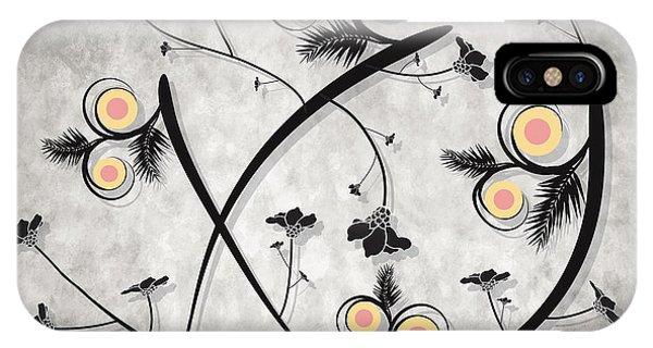 Dancing Flowers IPhone Case