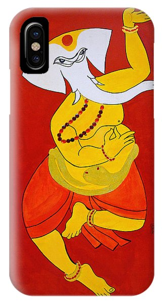 Dancing Ganesha IPhone Case