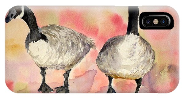 Dancing Geese IPhone Case