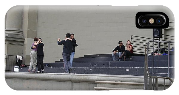 IPhone Case featuring the photograph Dancing In Golden Gate Park by Cynthia Marcopulos