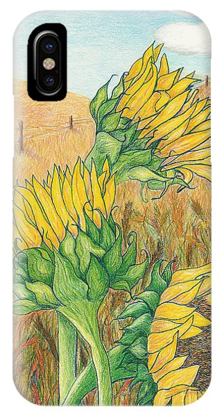 Dancing In The Breeze  IPhone Case