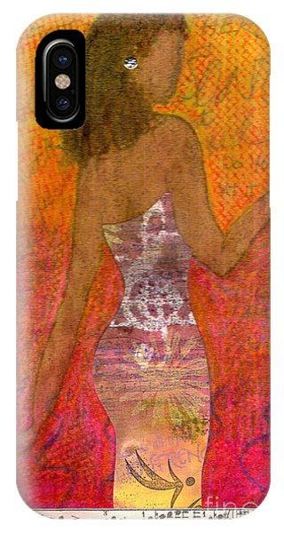 Dancing Lady IPhone Case