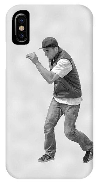 Dancing Man IPhone Case