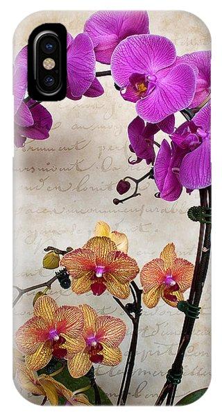 Dancing Orchids IPhone Case