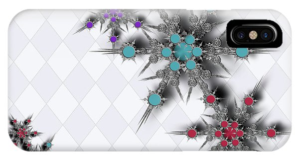 Dancing Snowflakes IPhone Case