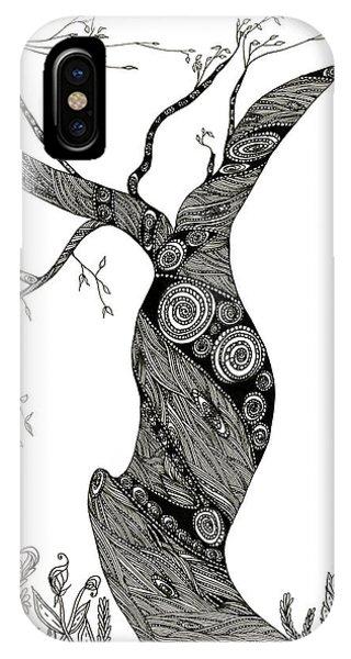 Dancing Tree IPhone Case