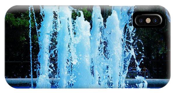 Dancing Waters Blue IPhone Case