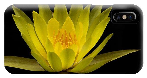 Dancing Yellow Lotus IPhone Case