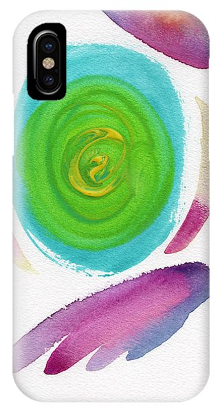 IPhone Case featuring the painting Dandelion by Bee-Bee Deigner