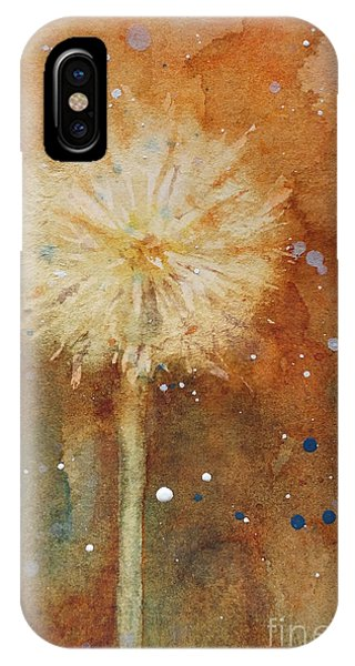 Dandelion Clock 1 IPhone Case