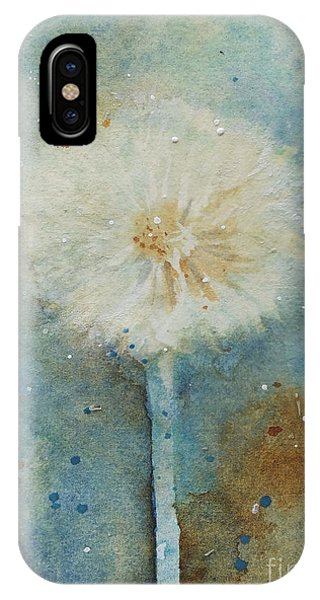 Dandelion Clock 2 IPhone Case