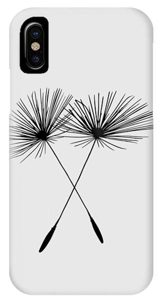 Dandelion Duo  IPhone Case