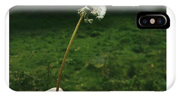 #dandelionclock #dandelion #nature Phone Case by Natalie Anne